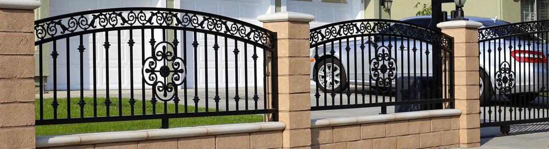 Cheap realizziamo recinzioni in metallo disponibili con - Recinzioni in metallo per giardino ...